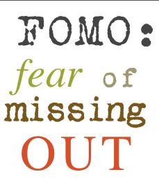 FOMO on Social Media