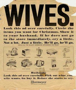 Vintage Appliance Ad