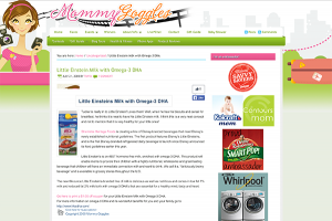 Mommy Goggles Website Promoting Heritage Foods