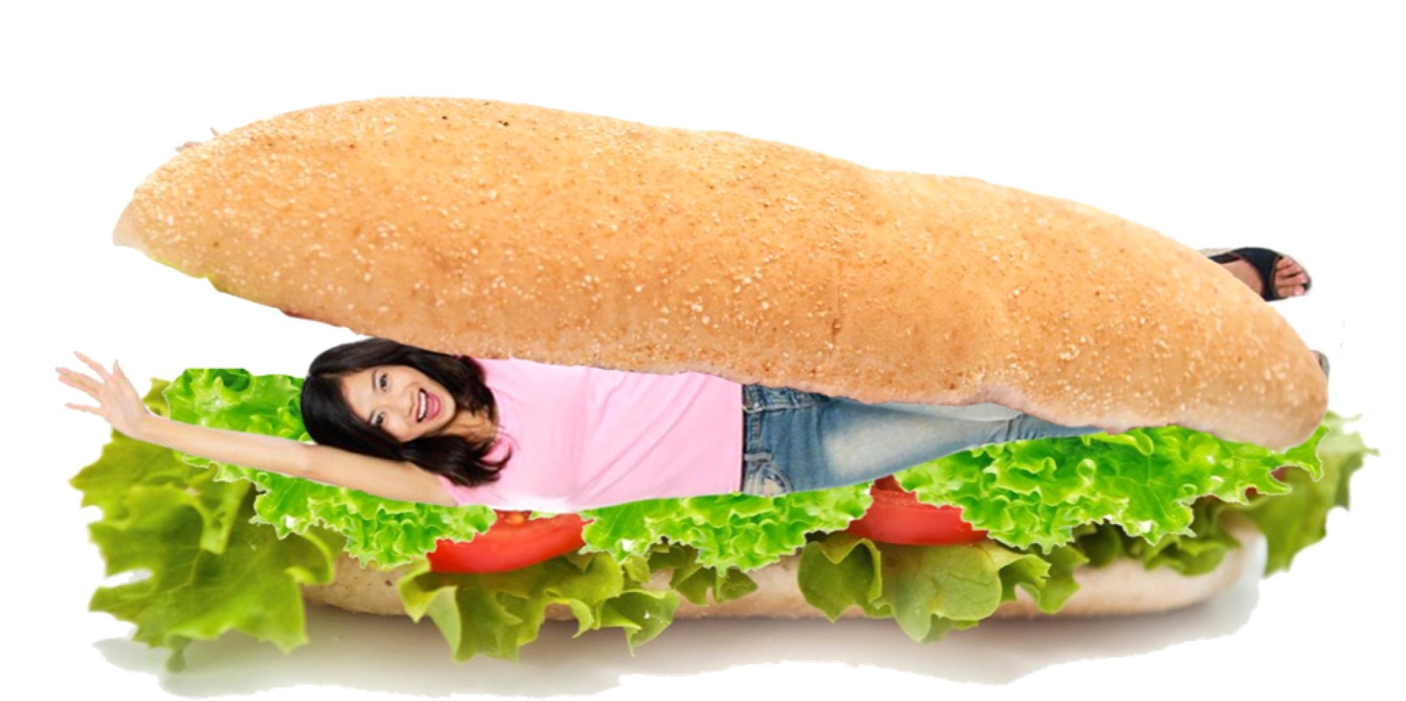 Mom in the Sandwich