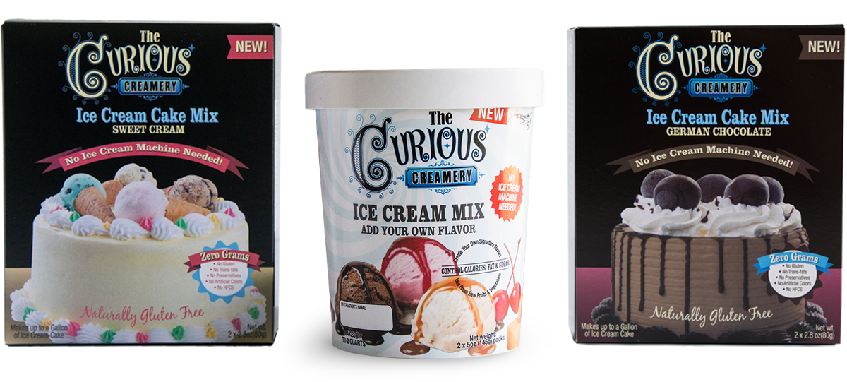 Curious Creamery New Product Launch