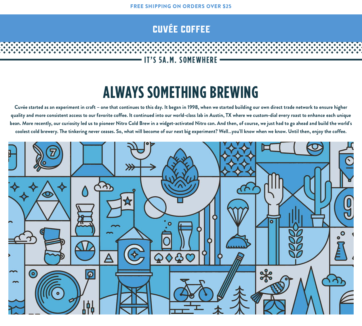 cuvee coffee example of food and beverage marketing
